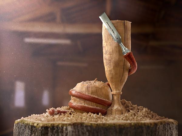 Sculpture bois - Timothée Vigouroux